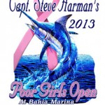 (no title) (20TH ANNUAL CAPT. STEVE HARMAN'S POOR GIRLS OPEN AUGUST 15-17, 2013)