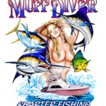 girlheader (Muff Diver Charter Fishing Report – June 15th, June 16th 2013)